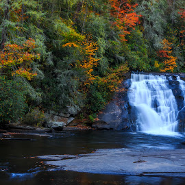 Fall Color Fall Time by Rananjay Kumar - Landscapes Waterscapes ( #landscapes, #waterfall, #nice, #outdoor, #color, #flow, #canon )