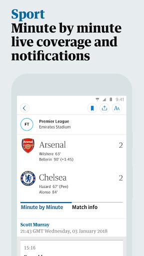 The Guardian screenshot 3
