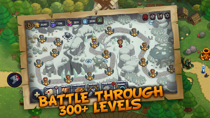 Realm Defense: Hero Legends TD Epic Strategy Game Screenshot 5
