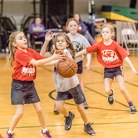 by Jackie Eatinger - Babies & Children Children Candids ( yasmin basketball, aleycia )