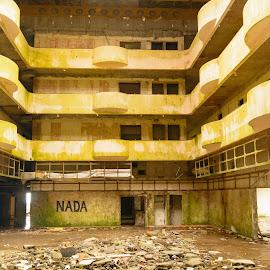 7 cidades, Azores by Martín Silva Cosentino - Buildings & Architecture Other Interior ( abandonado, hotel, architecture, portugal, azores )