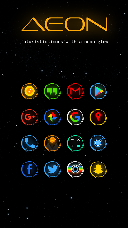 Aeon Icon Pack Screenshot