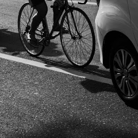 Bikecycle is the best way by Yudha Suhaibar - City,  Street & Park  Street Scenes