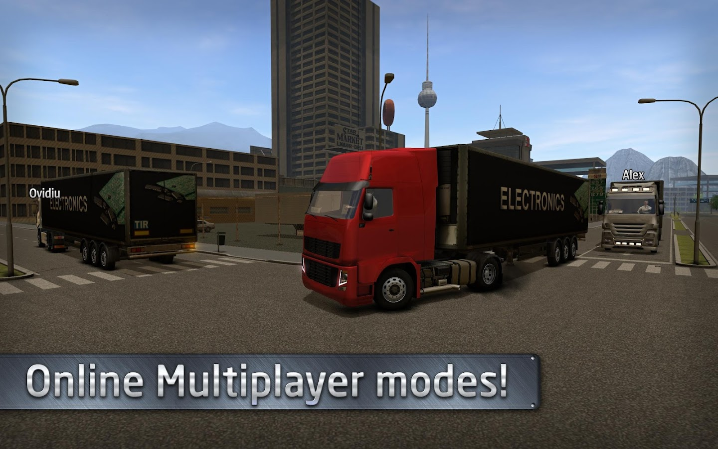Euro Truck Driver (Simulator) Screenshot 4