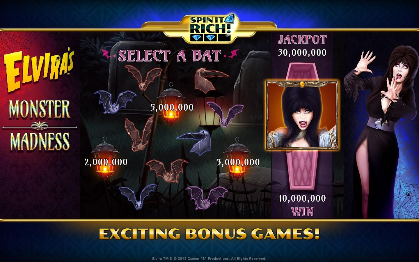 Spin It Rich! Free Slot Casino Screenshot 9