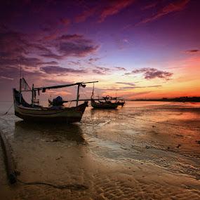 by Linggar Saputra I Wayan - Landscapes Sunsets & Sunrises