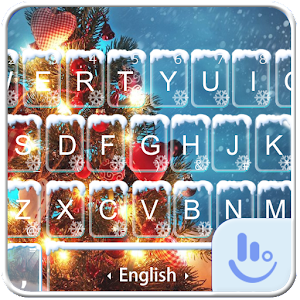 Download free Warm Snowy Tree Keyboard Theme for PC on Windows and Mac