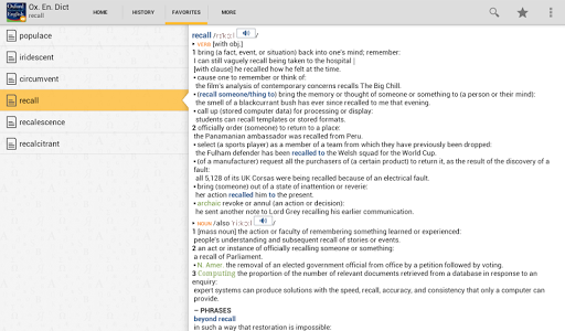 OfficeSuite Oxford Dictionary screenshot 8