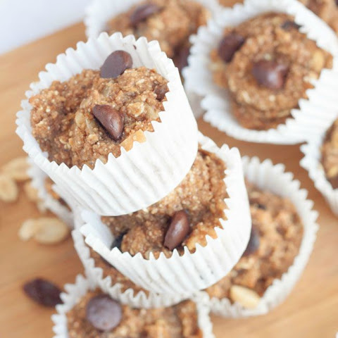 Healthy Trail Mix Muffins