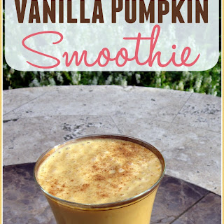 Pumpkin Smoothie Vanilla Yogurt Recipes
