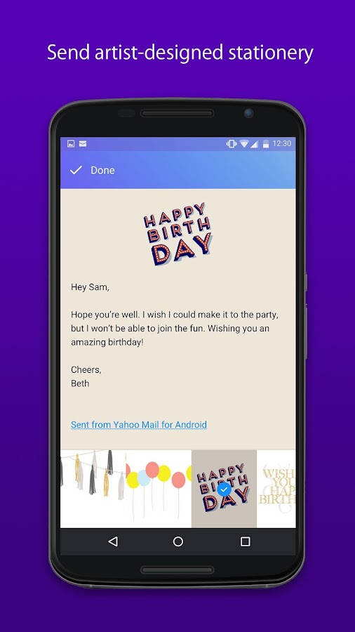 Yahoo Mail – Stay Organized Screenshot 3