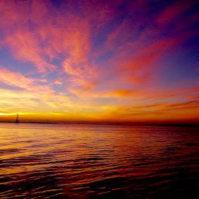 Charleston SKY by Hugh McLaren - Landscapes Sunsets & Sunrises (  )