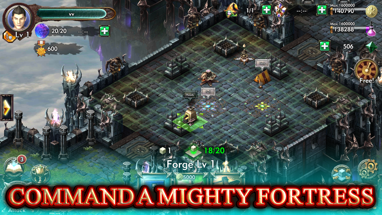 Fortress Legends Screenshot 2