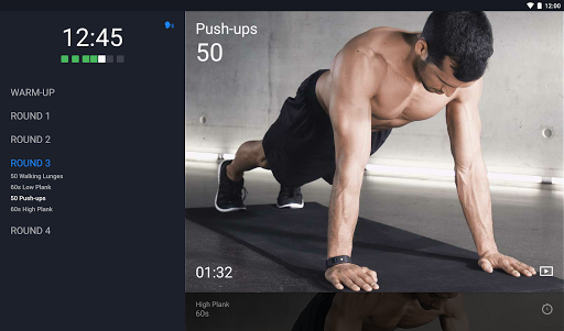Runtastic Results Home Workouts & Personal Trainer screenshot 6