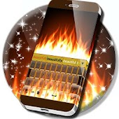 Fire Keyboard GO Theme APK for Ubuntu