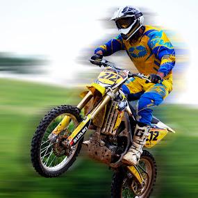 Take off! by Daniel Mlakar - Sports & Fitness Motorsports ( motocros, motokros, motor, race, jump )