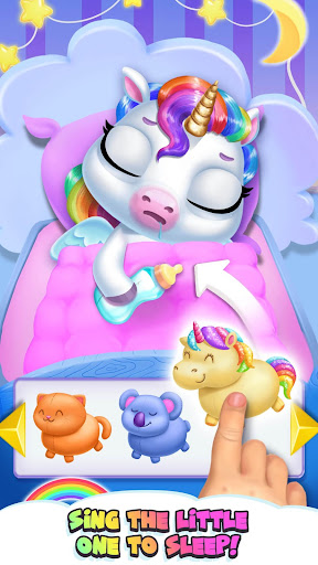 My Baby Unicorn - Cute Rainbow Pet Care & Dress Up For PC