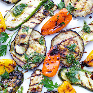 Grilled Eggplant And Zucchini Salad Recipes