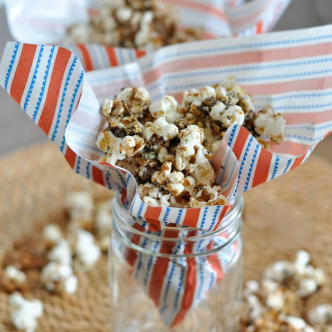 Caramelized Hemp and Chai Seed Popcorn
