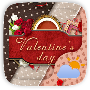 Valentine Weather Widget Theme