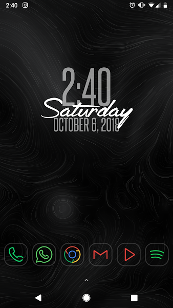 A Better Clock Widget Screenshot Image