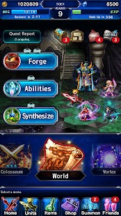 FINAL FANTASY  BRAVE EXVIUS apk screenshot