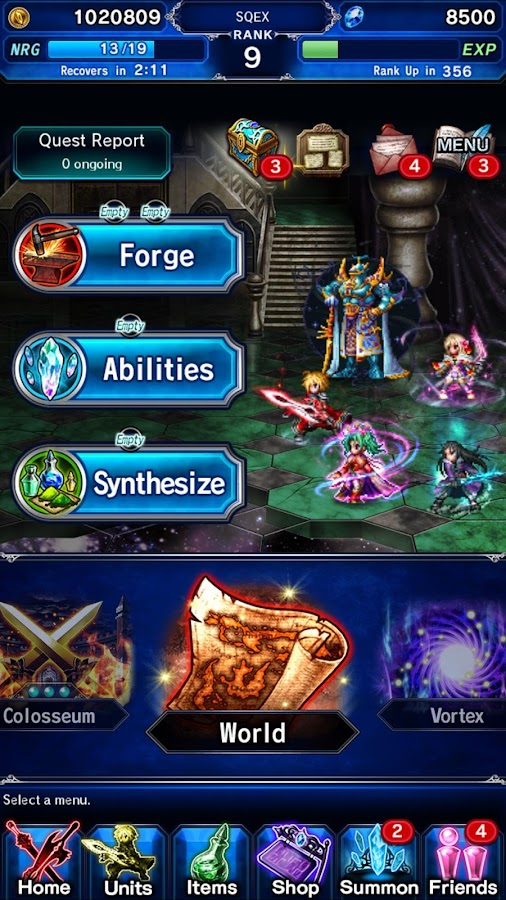 FINAL FANTASY  BRAVE EXVIUS Screenshot 5