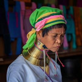 Padaung tribe of Myanmar by Bernard Tjandra - People Street & Candids