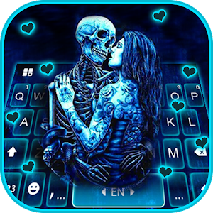 Ghost Lovers Kiss Keyboard Theme For PC / Windows 7/8/10 / Mac – Free Download
