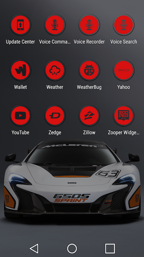 Miller Red - Icon Pack Screenshot 5