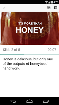 Google Slides APK screenshot thumbnail 5
