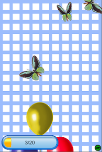 Balloon Butterfly Popping - screenshot