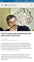 Screenshot of EL UNIVERSAL+