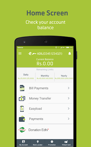 Easypaisa Apk Download Free for PC, smart TV