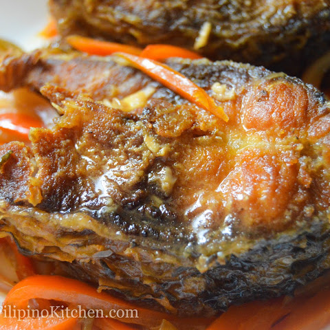 Carp In Sweet and Sour Sauce (Escabeche)