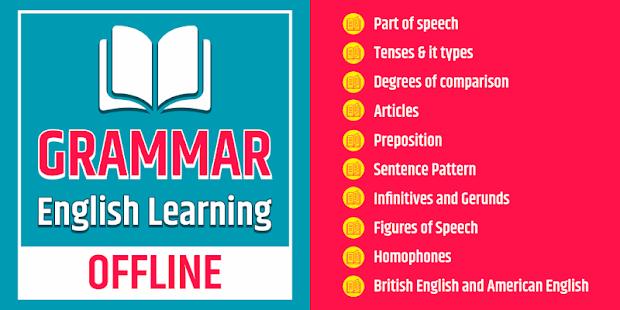 English Grammar Learning Free Offline Grammar Book for pc