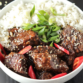 Braised Korean Beef Short Ribs