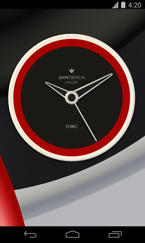 Toro Clock Widget Screenshot 1