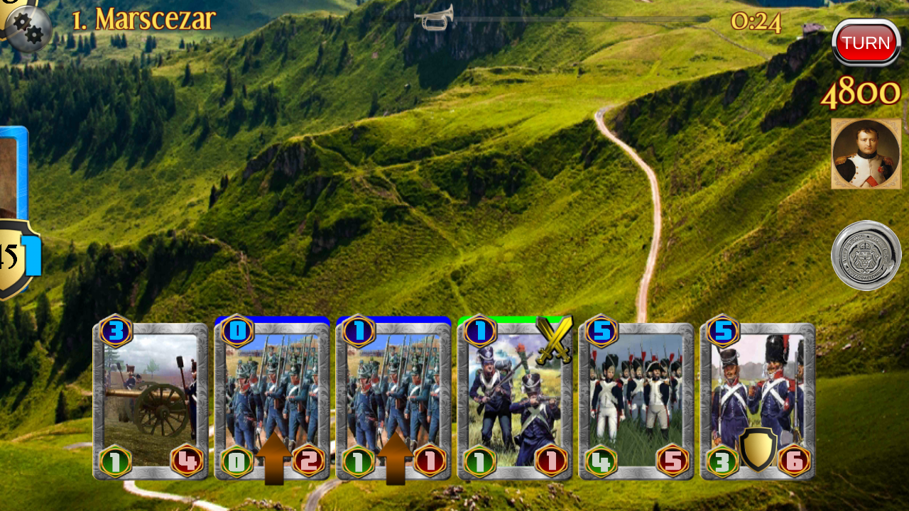 Napoleon War Cards Screenshot 1