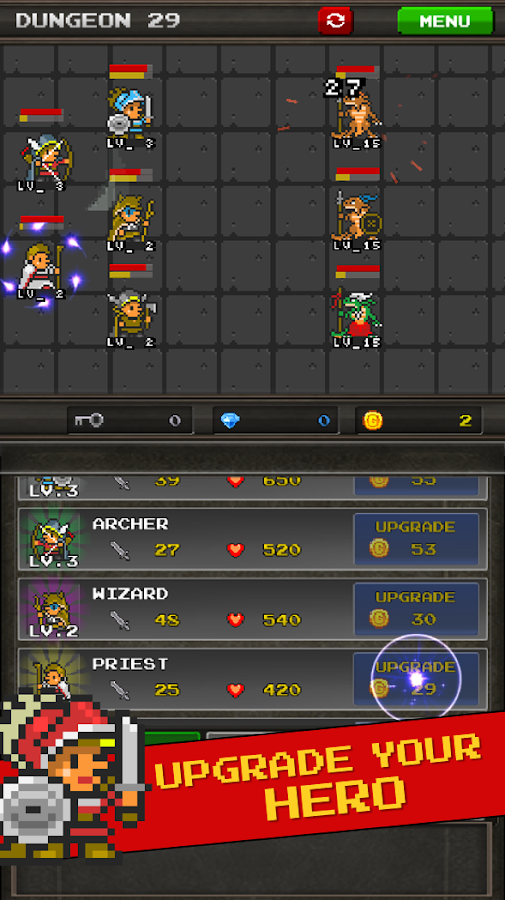 Pixel Heros - Idle RPG Screenshot 7