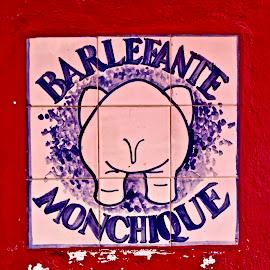 Bar-Schild by Marianne Fischer - Artistic Objects Signs