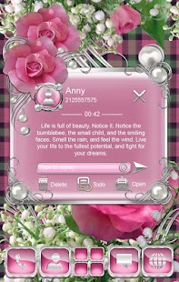 How to download MayLily & Rose Go SMS Theme lastet apk for pc