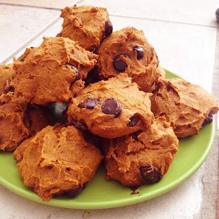 Pumpkin Dark Chocolate Chip Whole Grain Cakies