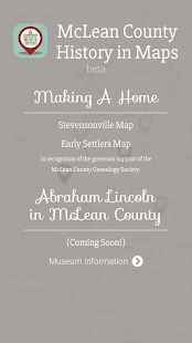 McLean County History in Maps - screenshot