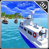 Navy Police Motor Boat Attack APK for Bluestacks