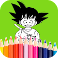 Download Kids Coloring Book DBZ Anime APK on PC