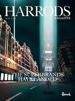Screenshot of Harrods Magazine