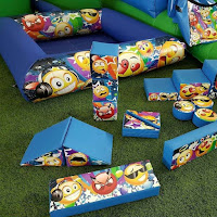 EMOJIS BALL PIT & SOFT PLAY EQUIPMENT SET FOR HIRE - SURBITON/SURREY