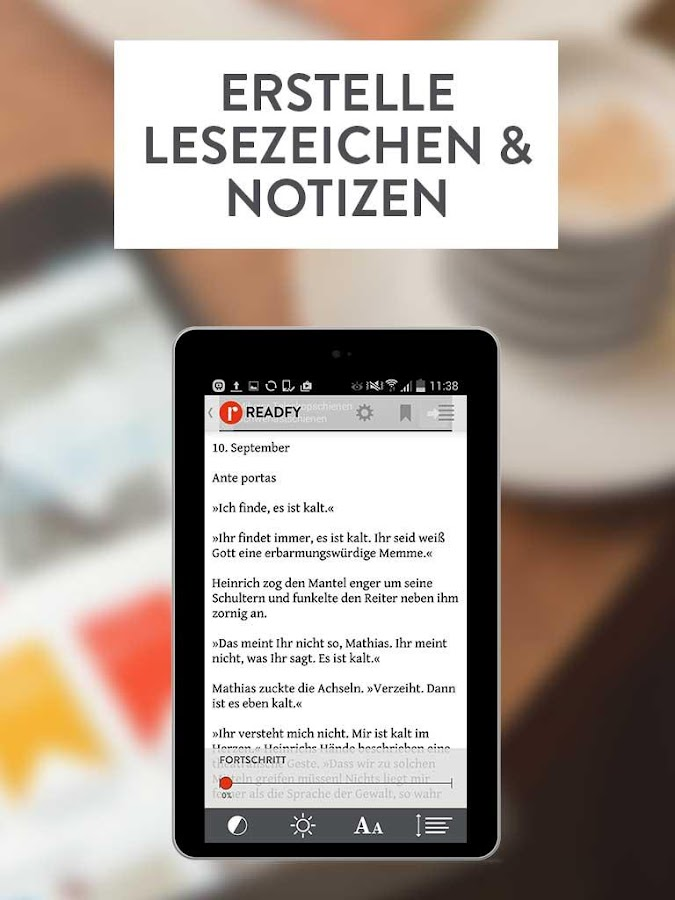 readfy - eBooks gratis lesen Screenshot 11