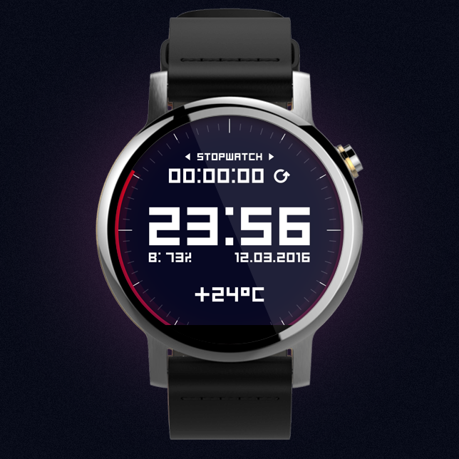 Watch Face: Digital Screenshot 1